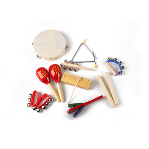 Wholesale kids musical instrument percussion set for kids baby toys