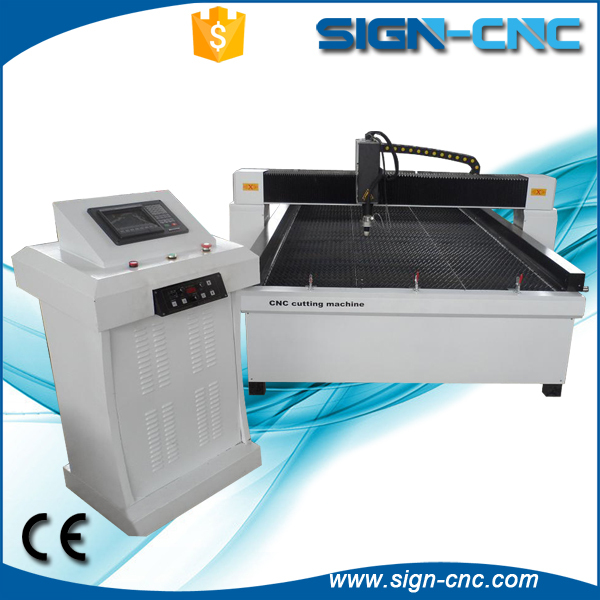 Iron/ Stainless Steel/ aluminum/ copper CNC Plasma Cutting Machine , CNC Plasma Cutter , Metal Plasma Cutting