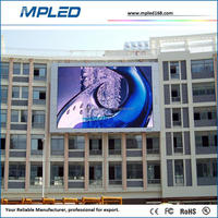 RGB full color double sided outdoor scrolling led sign with high appreciation for after sale service