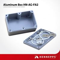 CE Aluminum Industrial Use Switch Box Heat Resistance Network Switch Enclosure
