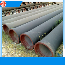 centrifugal k9 2600mm China supplier ductile iron pipes and fittings pipelines