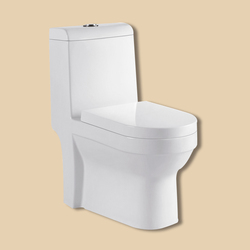 Ivory Color Sitting Toilet Girl