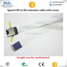 NEW patent SD card extension cable with screw holes