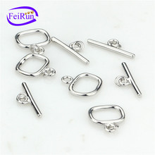 FEIRUN toggle new design silver clasp, clasp bracelet, jewelry screw clasp