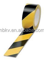 Black&Yellow 50mm x 33M FREE HAZARD WARNING PVC warning TAPE