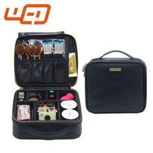 2017 Professional new style trendy design fancy travel make-up cosmetic bags for men