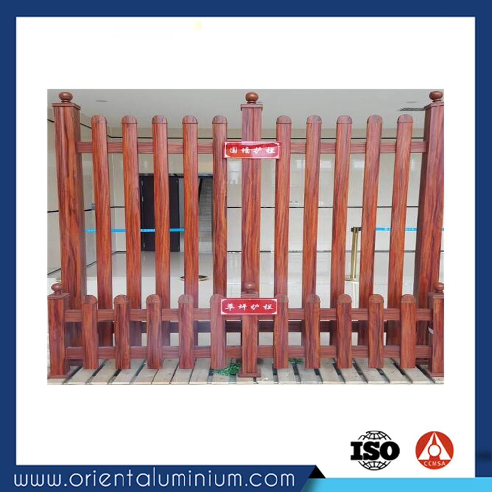 Weifang high quality aluminium plastic bamboo fence