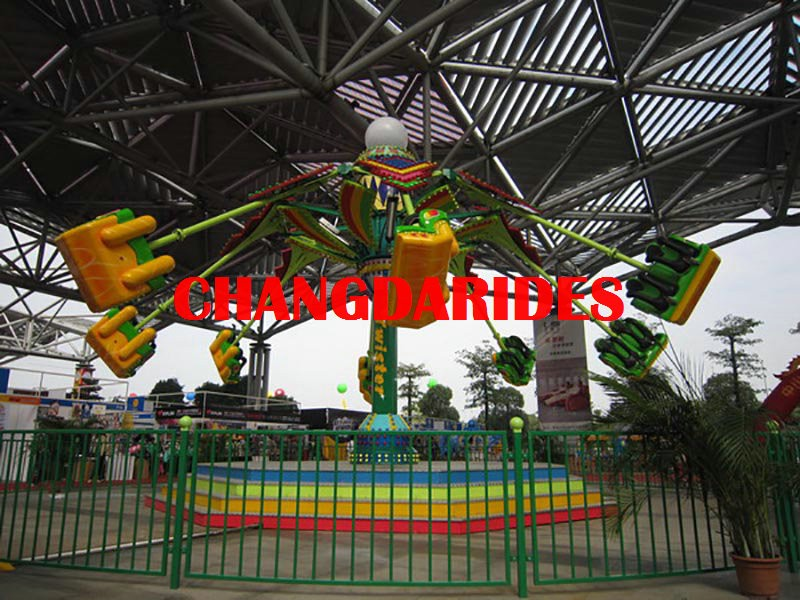 2018 Crazy and Fantastic Outdoor flying 16 seats airborne shot rides CD-AS16