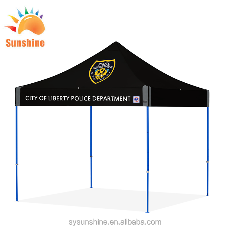 10x15 Black EZ Pop Up Canopy Commercial Outdoor Gazebo Market Trade Show Tent