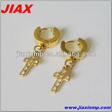 2013 Fashion stainless steel drop earrings