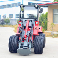 Pilot control loader 1.6T farm front end loader