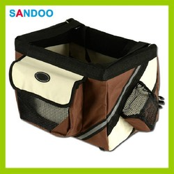 China supplier High quality bike pet carrier, bike pet travel bag for 2016