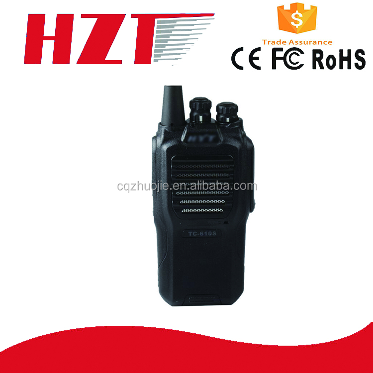 CE Approved 446Mhz license free walkie talkie hyt radio hytera TC-610S