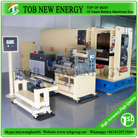 Al and Cu foil surface coating machine for battery production line