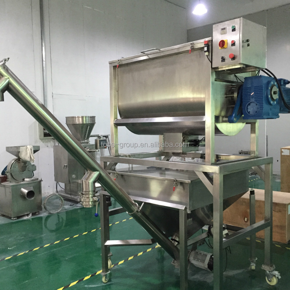 Sanitary liquid powder dosing mixer
