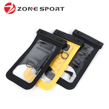 Selling High Touch Screen New Products PVC Waterproof Cellphone Pouch Bag