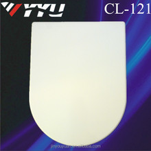 China Soft Close metal feet urea UF toilet lid for wc CL-121