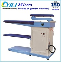 Vacuum ironing board/industrial ironing machine in birdge shape with factory price