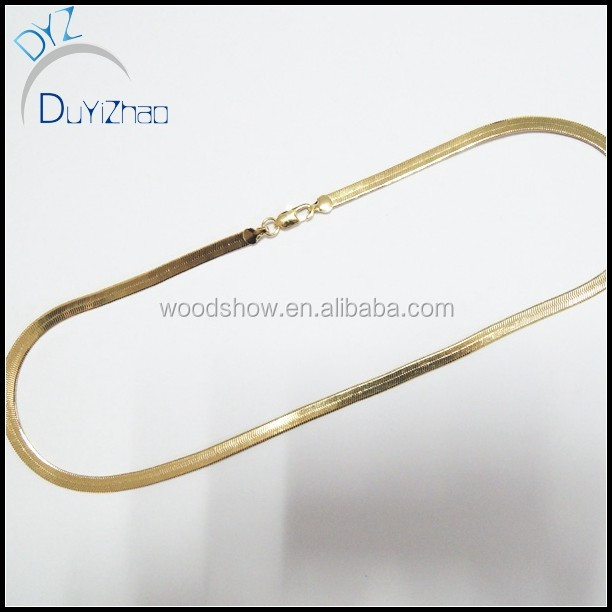fashion long snake chain necklaces new gold chain design for men