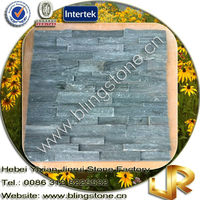 Natural Edged Slate Wall Culture Stone Decoration