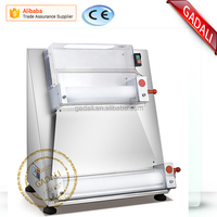 2016 hot sale stainless steel pizza dough roller machine, pizza dough sheeter machine(ZQF-40S)