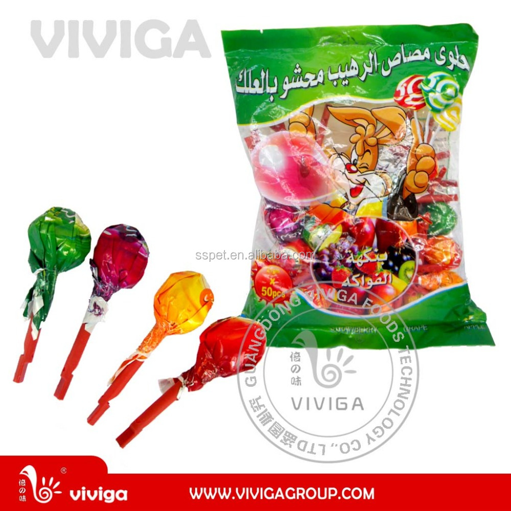 Whistle Pop Fruit Flavor Lollipop
