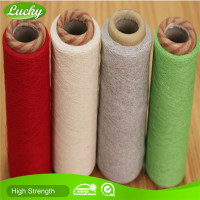 Advanced machines production low price regenerated cotton yarn for carpet yarn weft