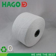 HAGO ne6s raw white grey poly/cotton recycled working gloves cotton yarn