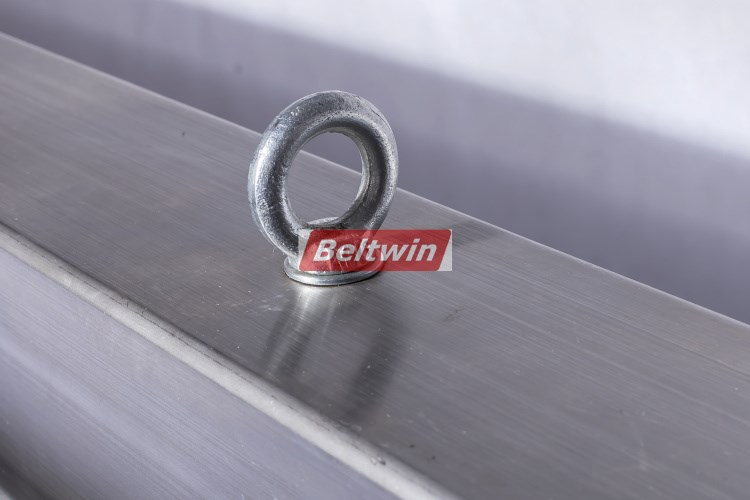Beltwin stainless steel pvc conveyor belt hot splicing water cooling press for conveyor belt