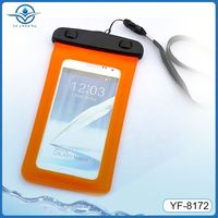 pvc phone waterproof case for samsung galaxy mega 5.8