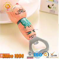 2016 hot selling 3d animals shape bottle opener