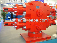High Quality API double ram BOP(blowout preventer),double ram cameron u bop