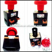 sensitive manual DC power battery push button emergency