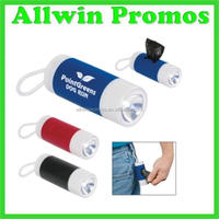 New Production Dog Bag Dispenser With Flashlight