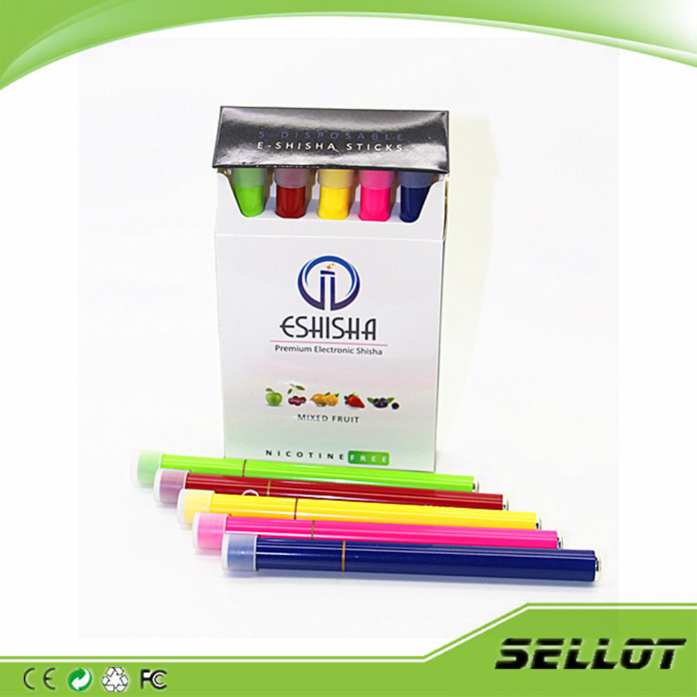 disposable e cigarette 500 puffs eshisha pen with fruit flavors