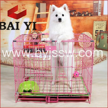 Whilesale Hot-dipped Galvanized/Indoor Dog Kennel With Folding Pet Crate