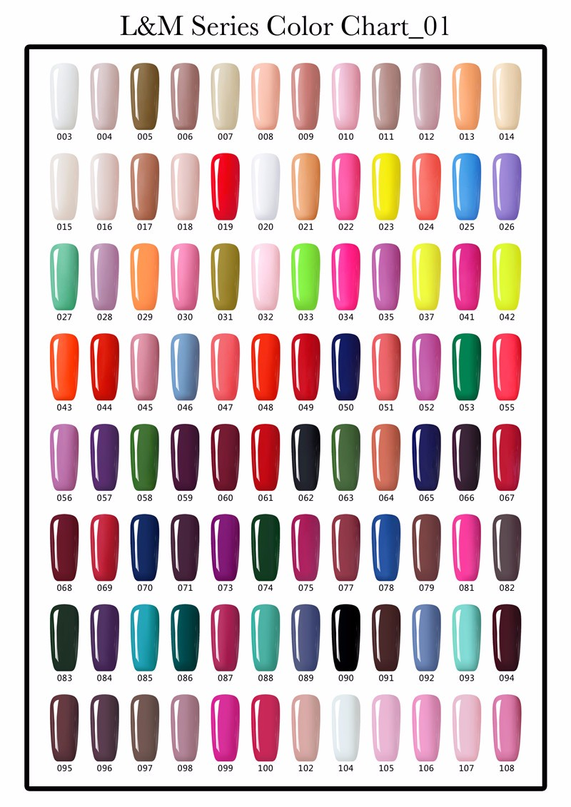 Easy Off 602 Colors 15ml IbdGel Nail Gel Polish