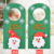 Christmas goods Doorknob decoration christmas door wreath