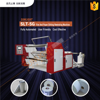 SLT-SG Film And Paper Slitting Rewinder