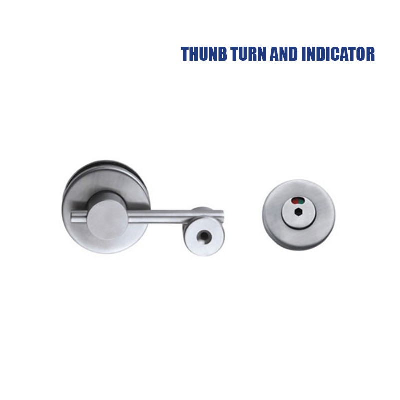 stainless steel toilet lock indicator and toilet partition door lock