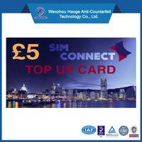Manufaturer of Phone prepaid top up card