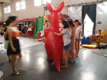 2013 attractive event/advertising/party inflatable carton kangaroo