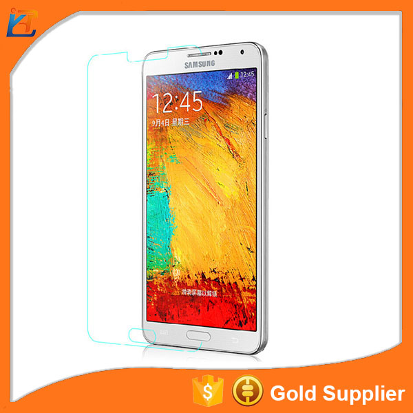 Clear explosion proof tempered glass phone for samsung galasy note3 screen protector
