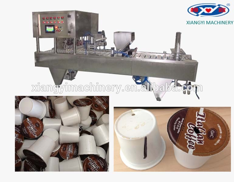 K CUP, Nespresso Coffee Capsule Filling Sealing Machine and Coffee Capsule Making Machine