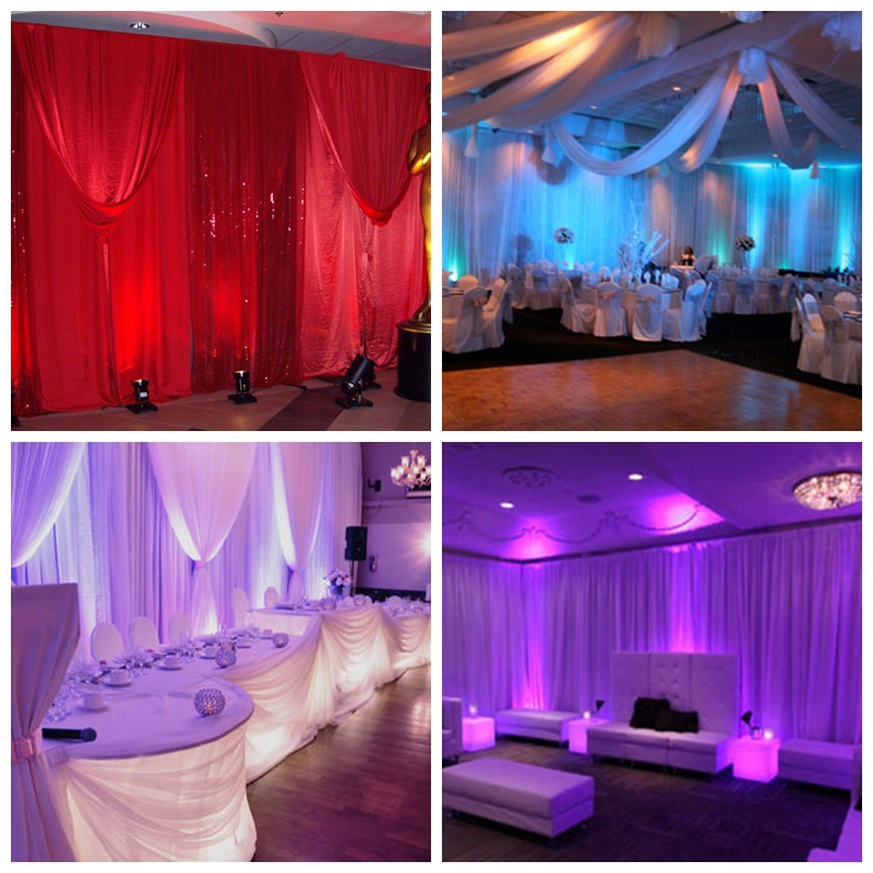 Rk pipe and drape for wedding wall coverings | photo booth frame