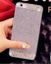 Bling Rhinestone Diamond Crystal Glitter Bling Hard Case Cover cell Phone Case for iPhone6/6s/6plus case