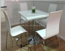 china 4 people marble burger king dining table ,restaurant dining table and chairs,coffe shop table and chair