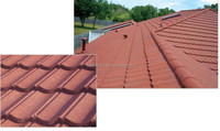 economic stone coated metal roof tile for africa