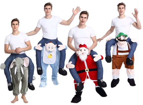Wholesale High Quality Workman Mascot Costume Carry me Costume