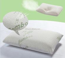 Removable Fabric Chips Shredded Bamboo Memory Foam Pillow King Size And Queen Size